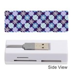 Snowflakes Pattern Memory Card Reader (Stick)  Front