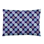 Snowflakes Pattern Pillow Case (Two Sides) Back