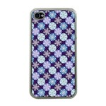 Snowflakes Pattern Apple iPhone 4 Case (Clear) Front