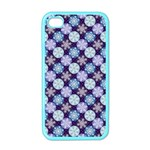 Snowflakes Pattern Apple iPhone 4 Case (Color) Front