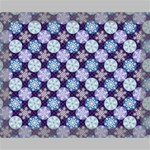 Snowflakes Pattern Deluxe Canvas 20  x 16   20  x 16  x 1.5  Stretched Canvas