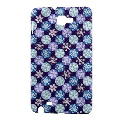 Snowflakes Pattern Samsung Galaxy Note 1 Hardshell Case