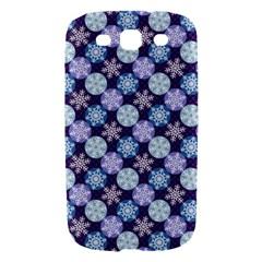 Snowflakes Pattern Samsung Galaxy S III Hardshell Case