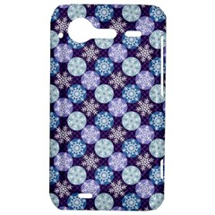 Snowflakes Pattern HTC Incredible S Hardshell Case