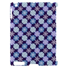 Snowflakes Pattern Apple iPad 2 Hardshell Case (Compatible with Smart Cover)