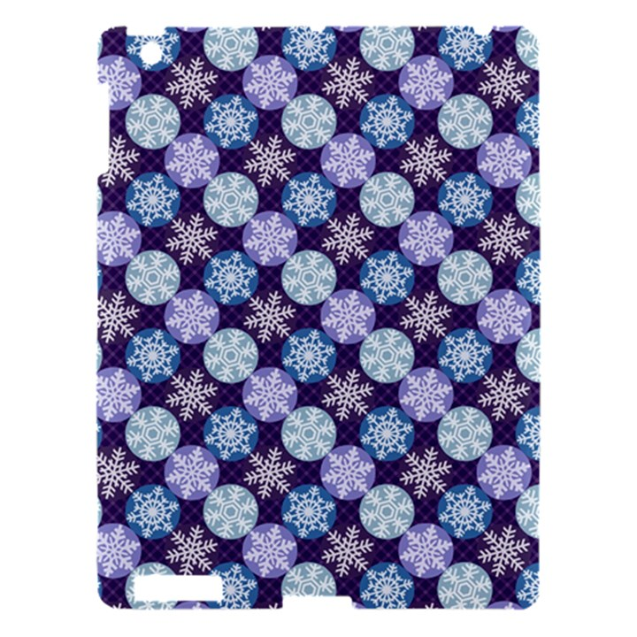 Snowflakes Pattern Apple iPad 3/4 Hardshell Case