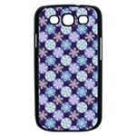 Snowflakes Pattern Samsung Galaxy S III Case (Black) Front