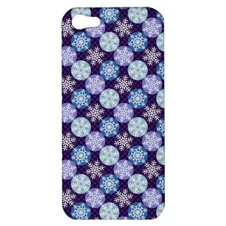 Snowflakes Pattern Apple iPhone 5 Hardshell Case