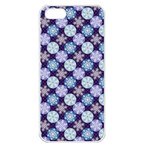 Snowflakes Pattern Apple iPhone 5 Seamless Case (White) Front