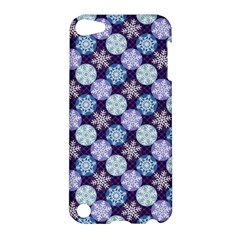 Snowflakes Pattern Apple iPod Touch 5 Hardshell Case