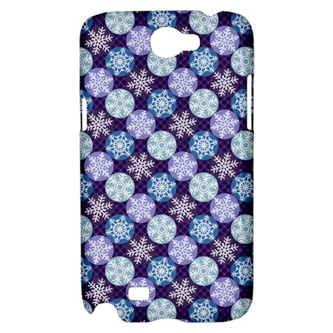 Snowflakes Pattern Samsung Galaxy Note 2 Hardshell Case