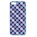 Snowflakes Pattern Apple Seamless iPhone 5 Case (Color) Front
