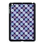 Snowflakes Pattern Apple iPad Mini Case (Black) Front