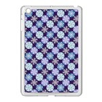 Snowflakes Pattern Apple iPad Mini Case (White) Front