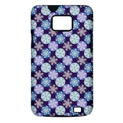Snowflakes Pattern Samsung Galaxy S II i9100 Hardshell Case (PC+Silicone)