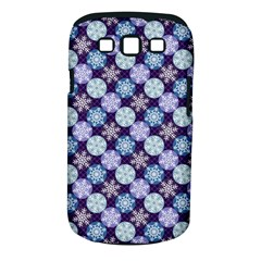 Snowflakes Pattern Samsung Galaxy S Iii Classic Hardshell Case (pc+silicone)