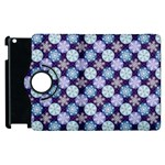 Snowflakes Pattern Apple iPad 3/4 Flip 360 Case Front