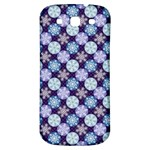 Snowflakes Pattern Samsung Galaxy S3 S III Classic Hardshell Back Case Front