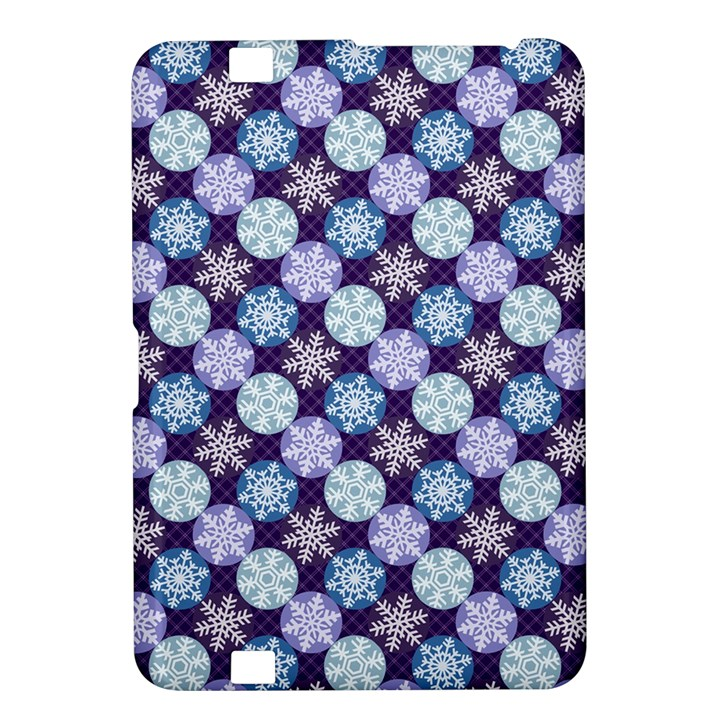 Snowflakes Pattern Kindle Fire HD 8.9