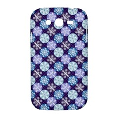 Snowflakes Pattern Samsung Galaxy Grand DUOS I9082 Hardshell Case
