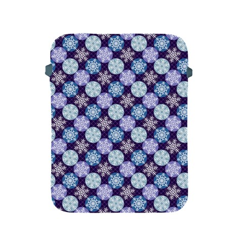 Snowflakes Pattern Apple iPad 2/3/4 Protective Soft Cases