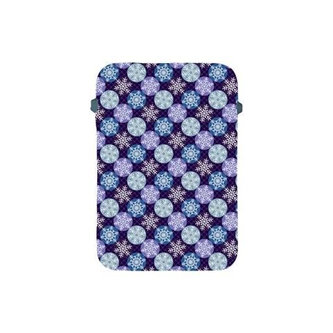 Snowflakes Pattern Apple iPad Mini Protective Soft Cases