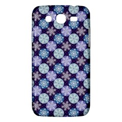 Snowflakes Pattern Samsung Galaxy Mega 5.8 I9152 Hardshell Case