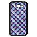 Snowflakes Pattern Samsung Galaxy Grand DUOS I9082 Case (Black) Front