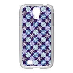 Snowflakes Pattern Samsung Galaxy S4 I9500/ I9505 Case (white)