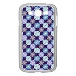 Snowflakes Pattern Samsung Galaxy Grand DUOS I9082 Case (White) Front