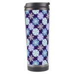 Snowflakes Pattern Travel Tumbler Right