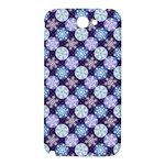 Snowflakes Pattern Samsung Note 2 N7100 Hardshell Back Case Front