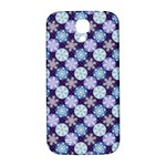 Snowflakes Pattern Samsung Galaxy S4 I9500/I9505  Hardshell Back Case Front