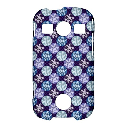 Snowflakes Pattern Samsung Galaxy S7710 Xcover 2 Hardshell Case