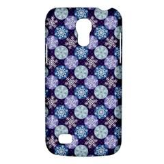 Snowflakes Pattern Galaxy S4 Mini