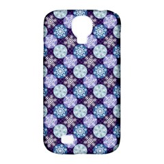 Snowflakes Pattern Samsung Galaxy S4 Classic Hardshell Case (PC+Silicone)