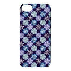 Snowflakes Pattern Apple Iphone 5s/ Se Hardshell Case