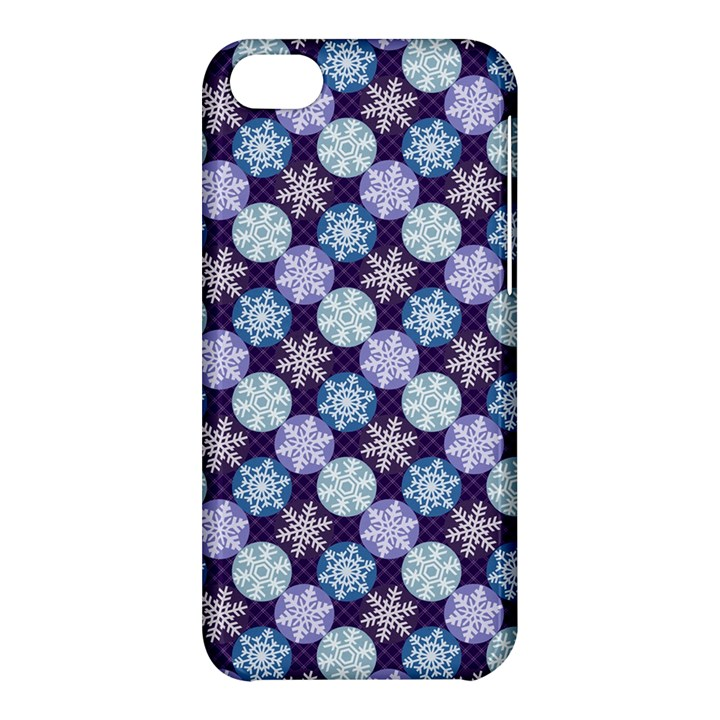 Snowflakes Pattern Apple iPhone 5C Hardshell Case