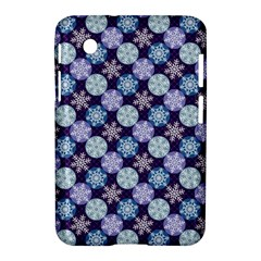 Snowflakes Pattern Samsung Galaxy Tab 2 (7 ) P3100 Hardshell Case