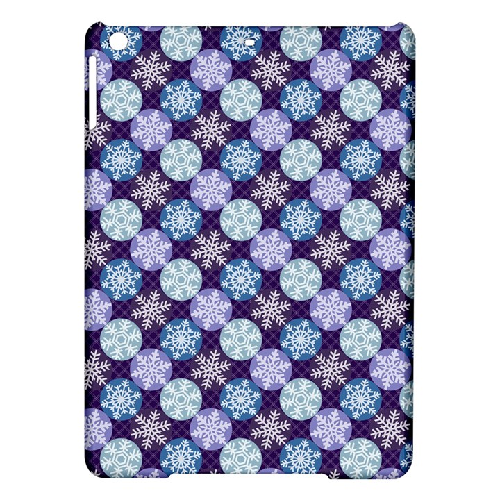 Snowflakes Pattern iPad Air Hardshell Cases