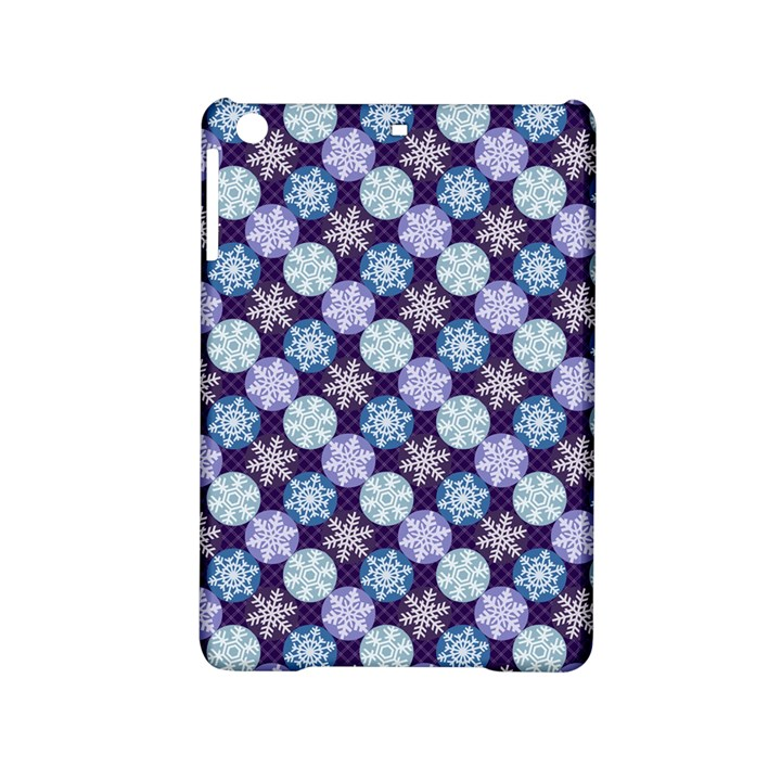 Snowflakes Pattern iPad Mini 2 Hardshell Cases