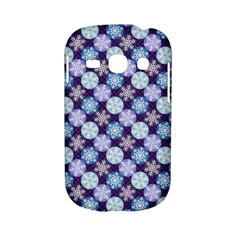 Snowflakes Pattern Samsung Galaxy S6810 Hardshell Case