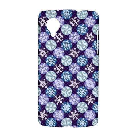 Snowflakes Pattern LG Nexus 5