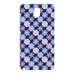 Snowflakes Pattern Samsung Galaxy Note 3 N9005 Hardshell Back Case Front