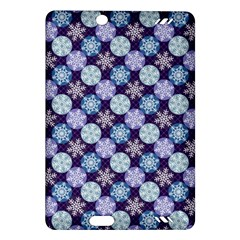 Snowflakes Pattern Amazon Kindle Fire Hd (2013) Hardshell Case