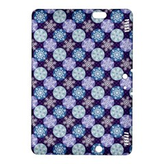 Snowflakes Pattern Kindle Fire Hdx 8 9  Hardshell Case