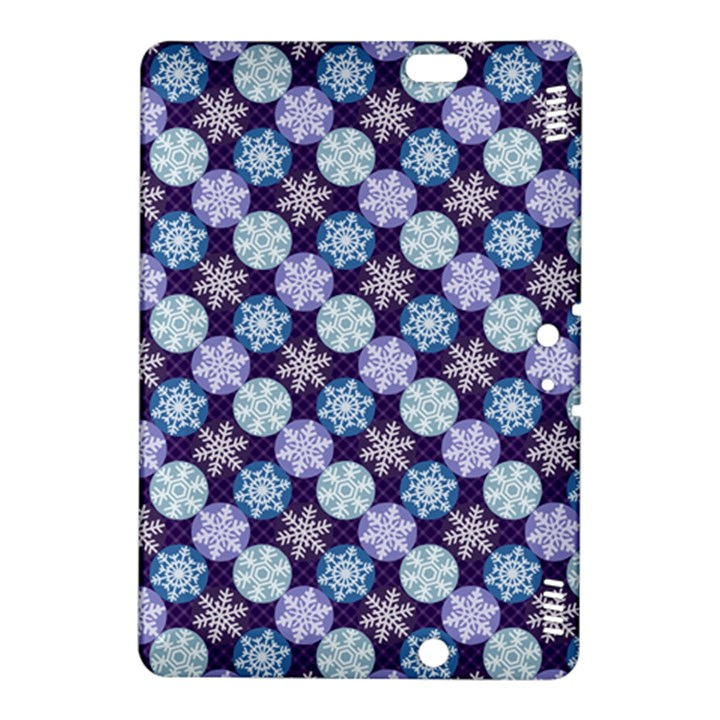 Snowflakes Pattern Kindle Fire HDX 8.9  Hardshell Case