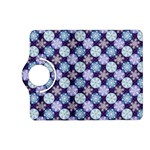 Snowflakes Pattern Kindle Fire HD (2013) Flip 360 Case Front
