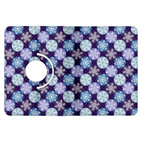 Snowflakes Pattern Kindle Fire HDX Flip 360 Case