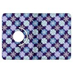 Snowflakes Pattern Kindle Fire HDX Flip 360 Case Front